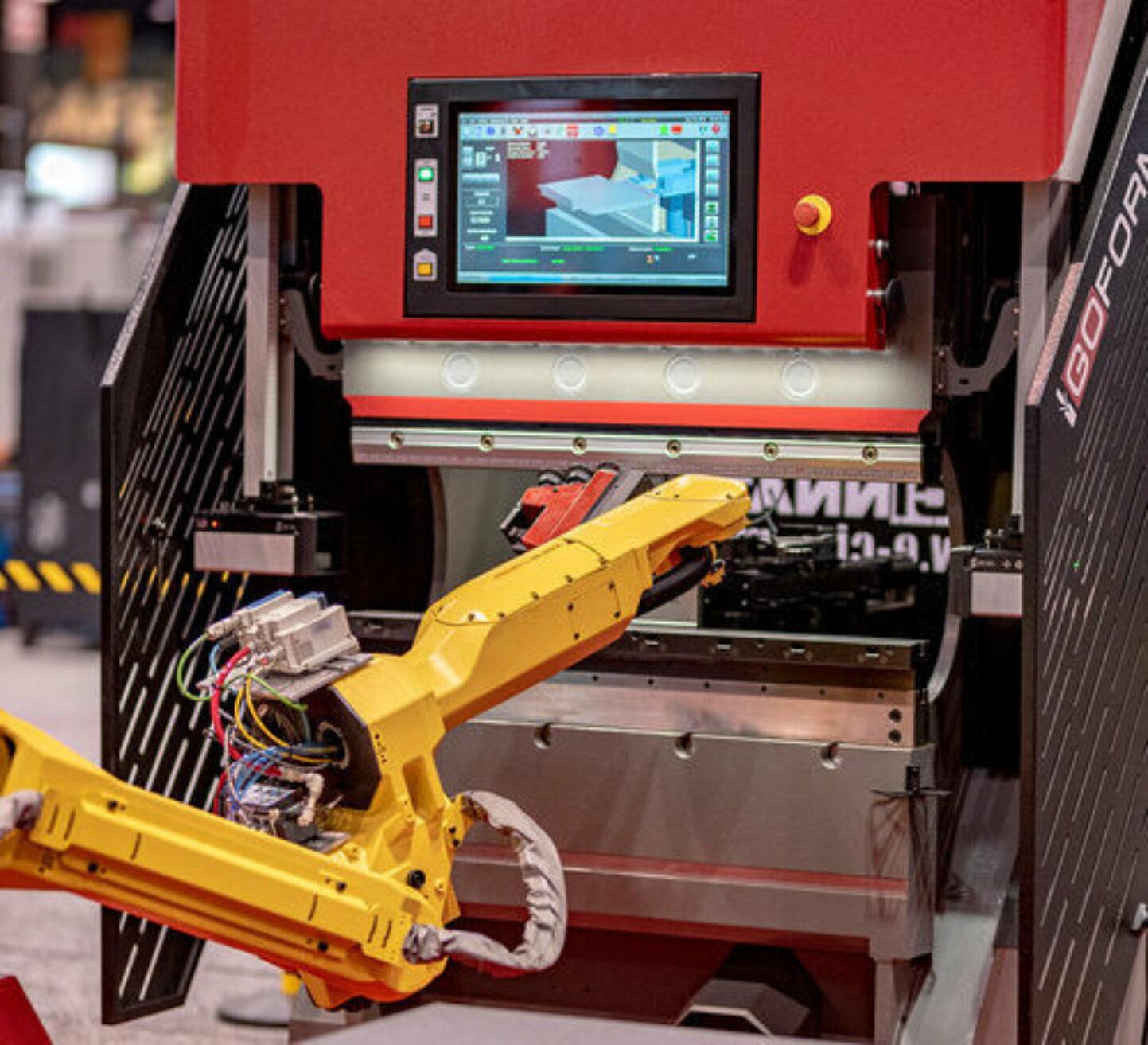 The CI ROBOFORM Robotic Press Brake Forming System