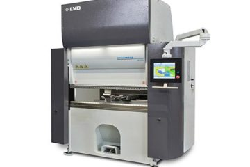 "LVD Adds New ""Pro"" Model to Electric-Drive Press Brake Series"