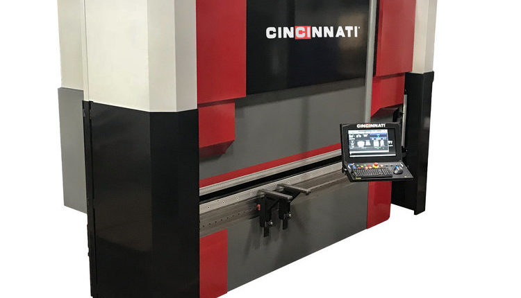 The new hybrid press brake from Cincinnati Inc.