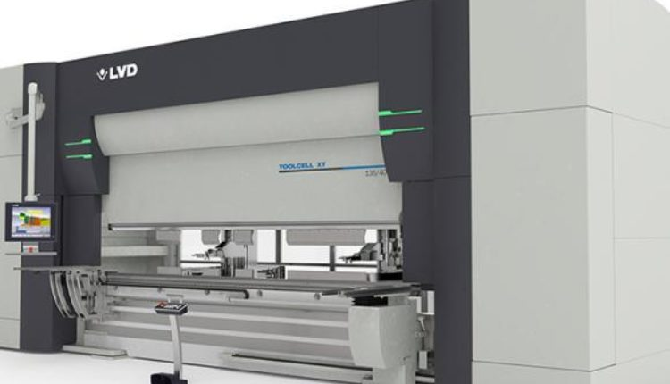 ToolCell XT Press Brake Offers 50% More Tooling Capacity Logo